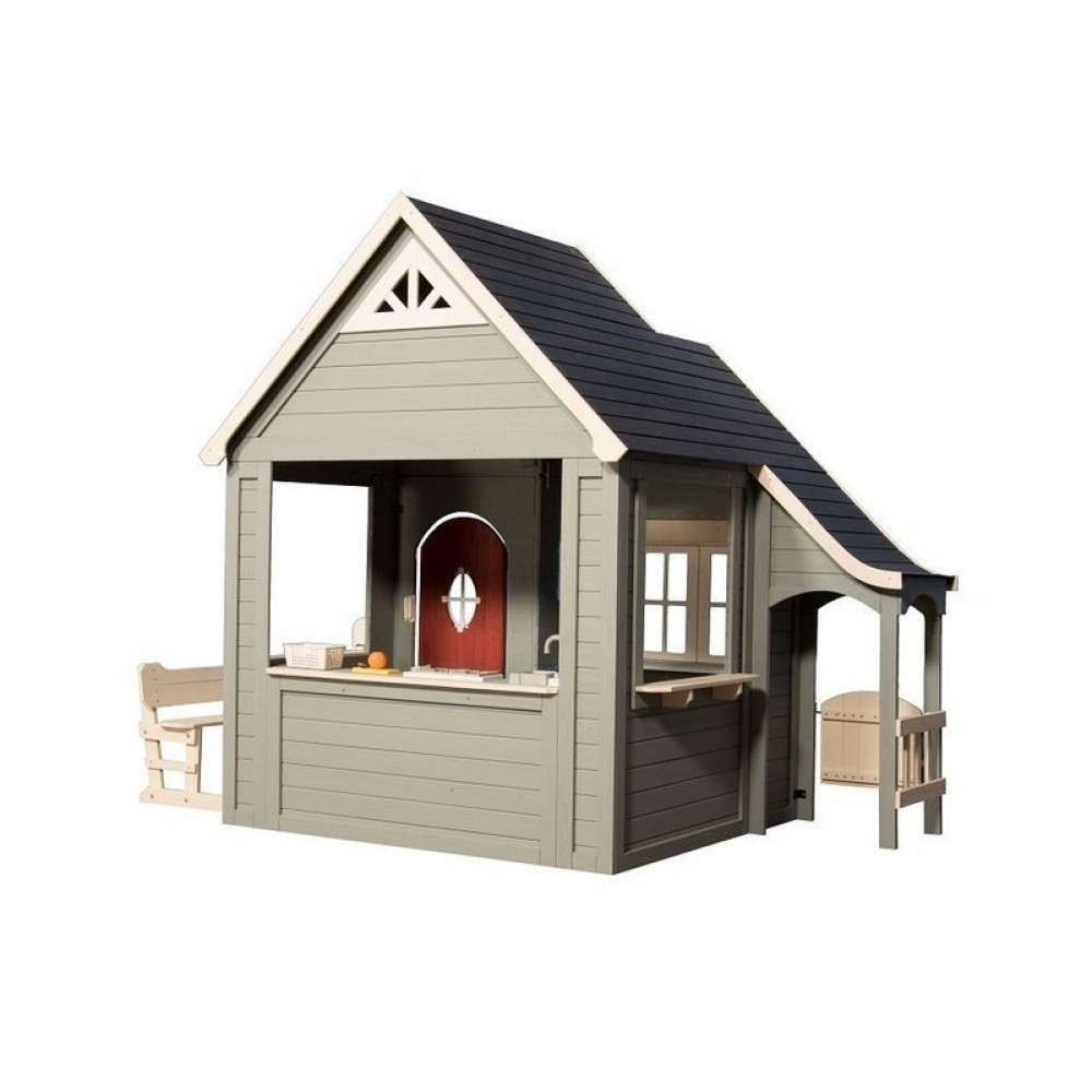 Wooden play house Spring Cottage - Backyard Discovery ...