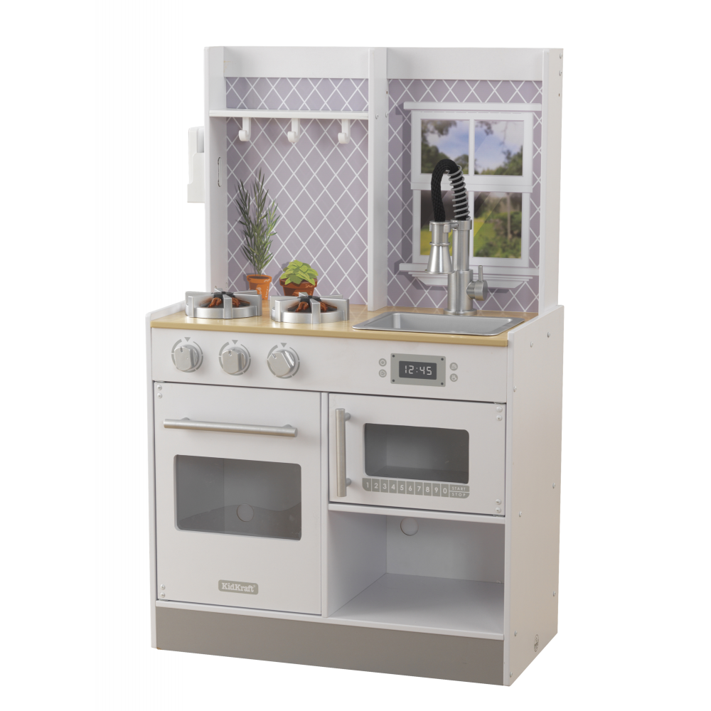 Let S Cook Wooden Play Kitchen Kidkraft 53395