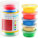 Sensory Tactile Theraputty Therapy Putty Multi Pack 5 Colours/5 Strengths