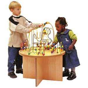 Wooden Beads Table Kids Corner - Joy Toy (01.09010)
