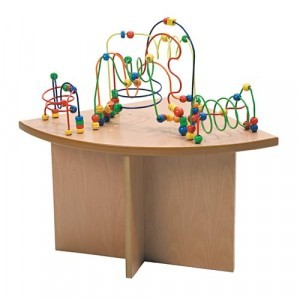Wooden Beads Table Quart Corner - Joy Toy (01.09025)