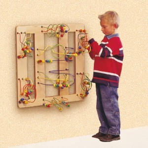 Wooden Beads Table Flat Corner - Joy-Toy (01.09040)