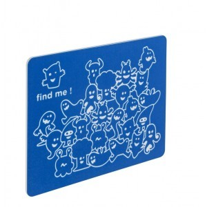 Play Panel Find Me - Blue - 73.5 x 58.5 cm