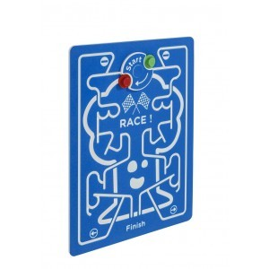Race Play Panel - Blue - 73.5 x 98 cm