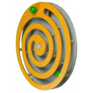 Wall panel Ball spiral Orange