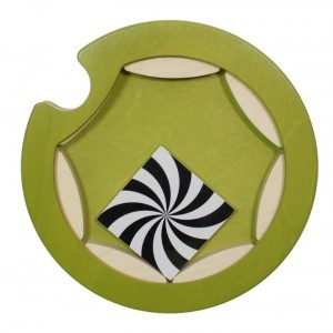 Mini roundabout wall panel