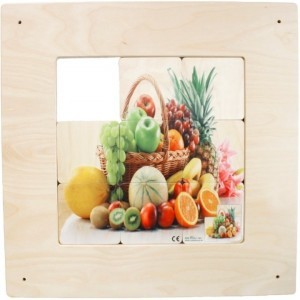 Wall panel Sliding fruit basket