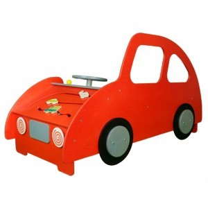 Wooden Car Play Corner