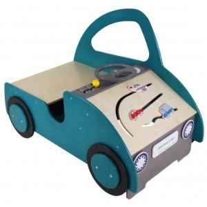 Wooden Car Small Play Corner