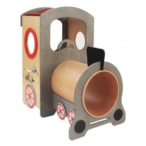 Wooden Locomotive Play Corner