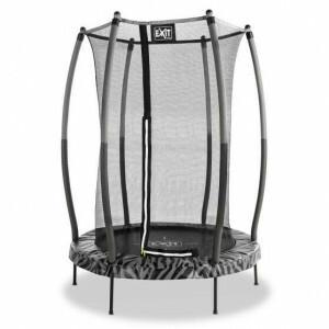 Exit Tiggy Junior Trampoline with Safety Net Ø140cm - Black / Gray
