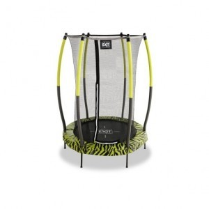 Exit Tiggy Junior Trampoline with Safety Net Ø140cm - Black / Green