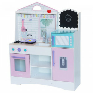Kidkraft Dreamy Delights Play Kitchen With Ez Kraft Assembly 10119