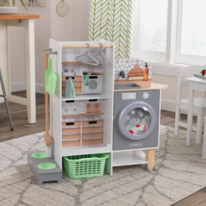 Kidkraft Kidkraft 2-in-1 Kitchen And Laundry Play Set 10240