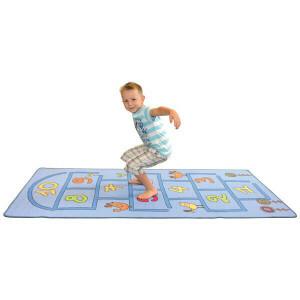 Carpet jumping game