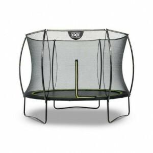 Silhouette trampoline ø244cm - black - Exit (12.93.08.00)