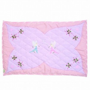 Fairy Cottage Floor Quilt (large) - Win Green (1204)