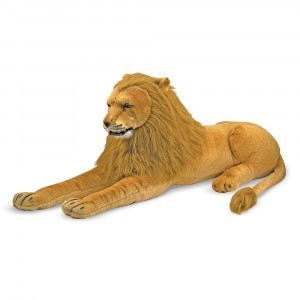 Large plush lion Zamaya