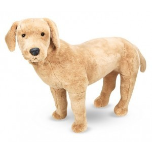 Large Plush Dog Labrador Marley - Melissa & Doug (12116)