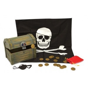 Pirate Treasure Box (with contents) - Melissa & Doug (12576)
