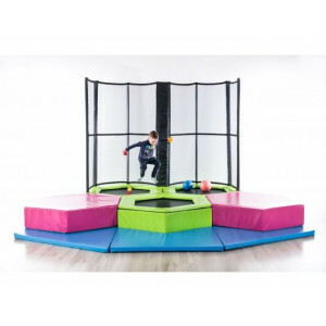 Mini Jump Trampoline Park Toddlers / Toddlers, 4 Trampolines