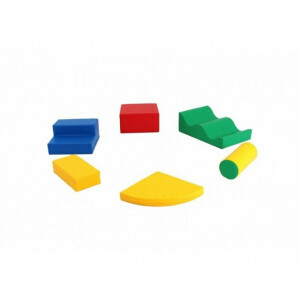Soft Play Foam Blocks Set 5, 6 Pieces