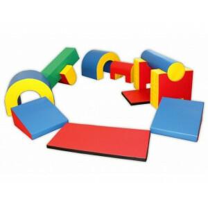 Soft Play Foam Blocks Mega Activity Set