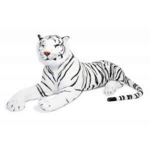 Great white plush tiger Shandra - Melissa & Doug (13979)