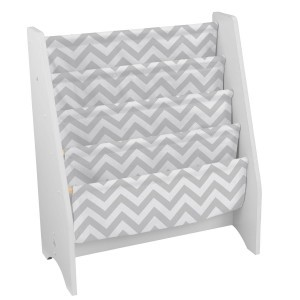 Sling Bookshelf (gray/white pattern) - Kidkraft (14234)