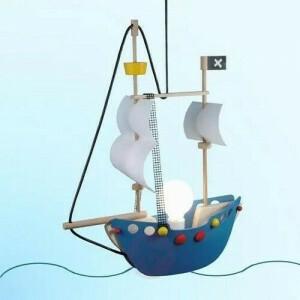 Pendant Lamp Pirate Ship