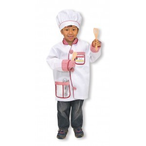 Costume Set Chef Kok - Melissa & Doug (14838)