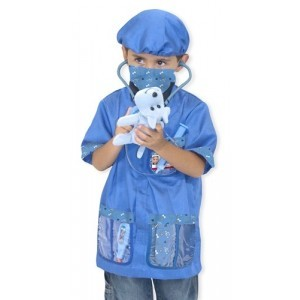 Vet Dressed Up Clothes Set - Melissa & Doug (14850)