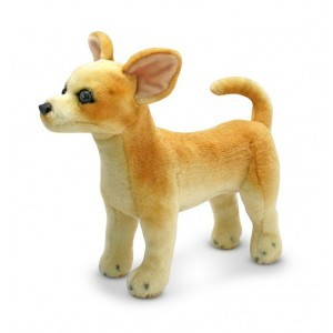 'Big' Plush Chihuahua Amaretto