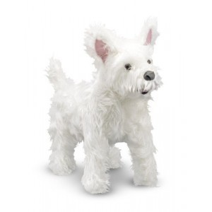 Large Plush West Highland Terrier Sprinkles