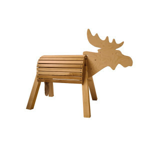 Moose Mount 80 Cm Glazed