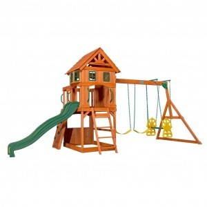 Atlantic Wooden Swing Set - Backyard Discovery - (1608016)
