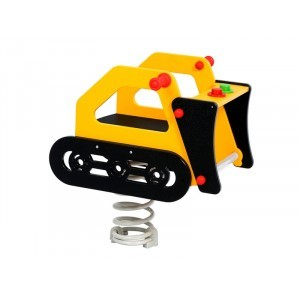 Springtoy Rocker Bulldozer
