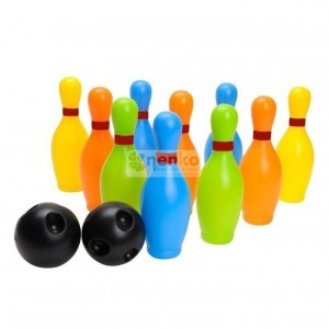 Colored Bowlingset