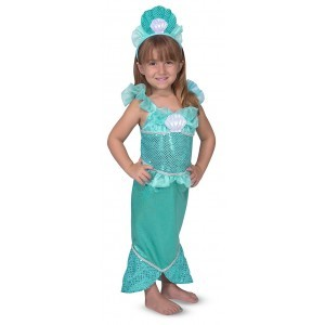 Costume Set Mermaid - Melissa & Doug (18501)