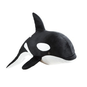 Large Plush Orca Shamu - Melissa & Doug (18802)