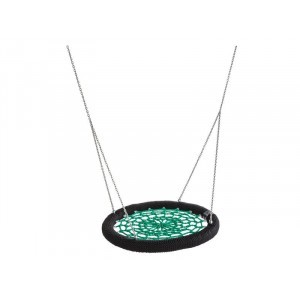 Nest Swing Rosette Round Green / Black Public