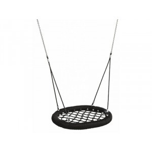 Nest Swing Oval Pro 100 cm Black Public use
