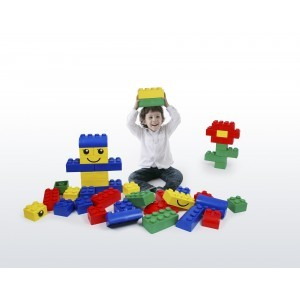 Wise Big Block Set Primary Colours (42 Pieces)