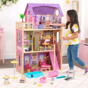 Patio & Pool Dollhouse Set