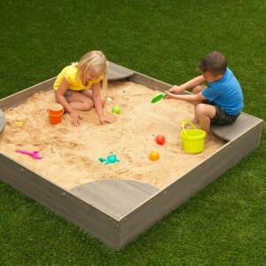 Backyard Sandbox - Gray