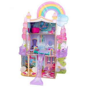 Rainbow Dreamers Unicorn Mermaid Dollhouse With Ez Kraft Assembly
