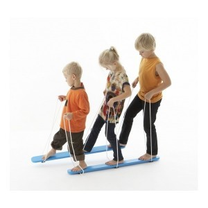 Gonge Wooden Summer Skis For 3 Children
