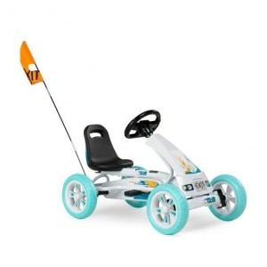 Exit Foxy Club Go-kart With Trailer - White