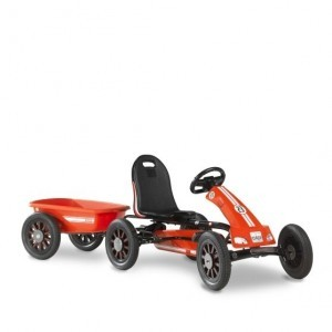 Exit Spider Race Go-kart With Trailer - Red