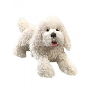 Hand Puppet Dog White -  (23041)